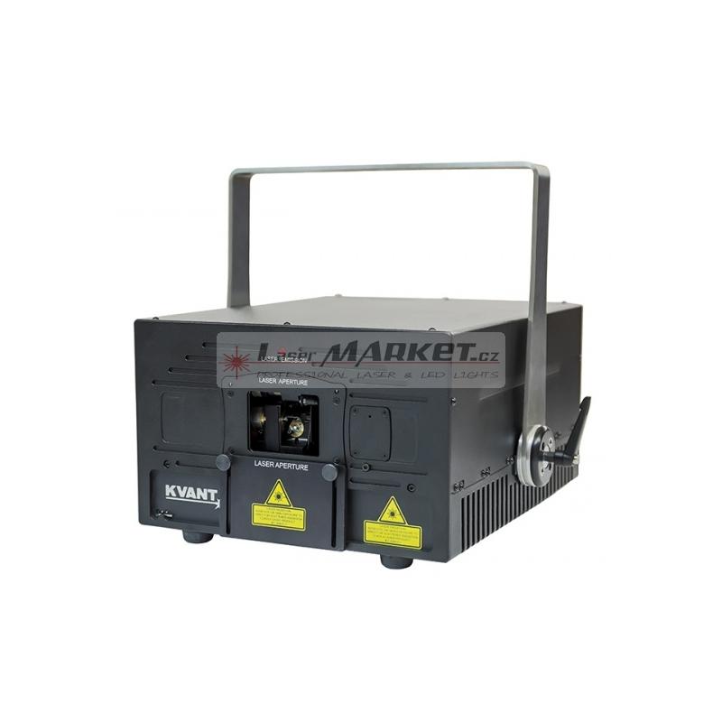 KVANT Maxim G900, 900mW jednobarevný laserový projektor, zelená 520nm, ILDA, DMX