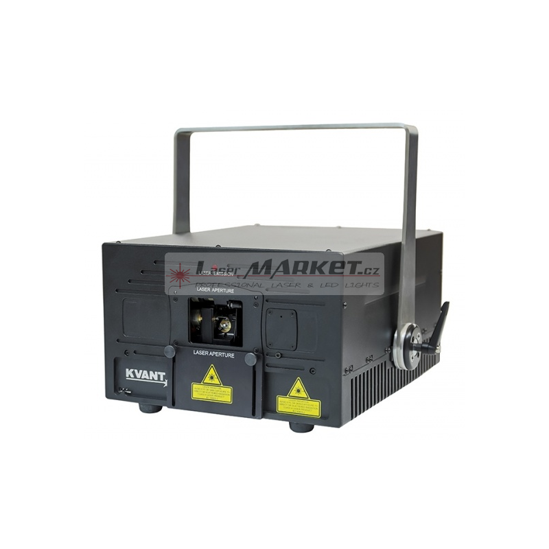 KVANT Maxim G1800, 1800mW jednobarevný laserový projektor, zelená 520nm, ILDA, DMX