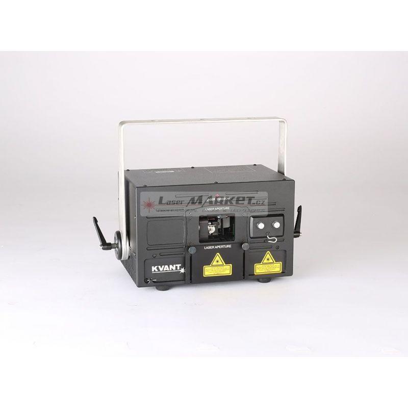 KVANT ClubMax 1800, 1800mW plnobarevný laserový projektor, RGB, ILDA, DMX