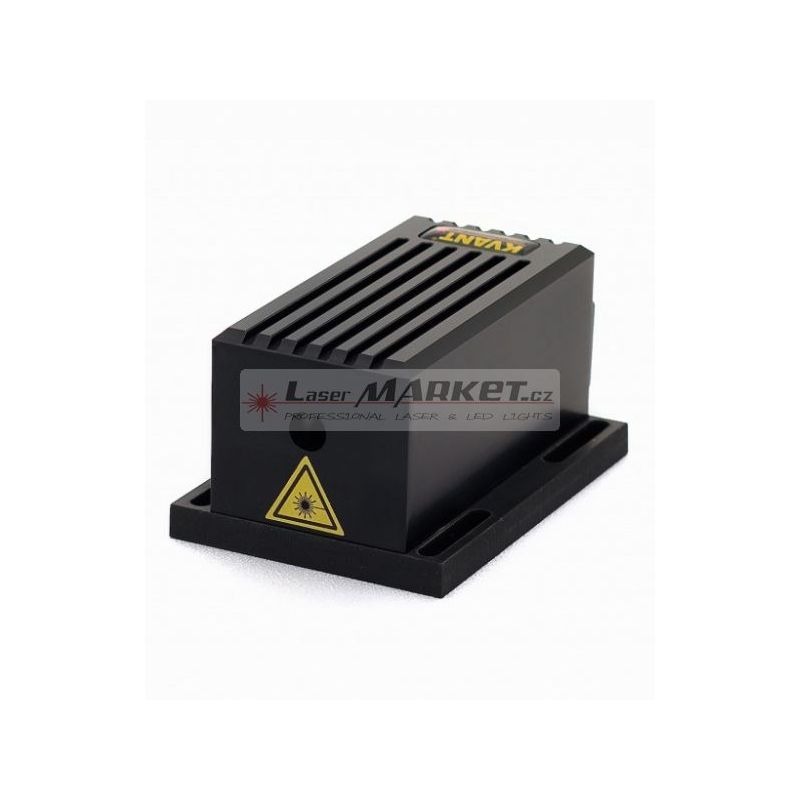 Kvant Laserový modul 0,95W 520nm, 950mW Green - zelený, analogová modulace 100kHz