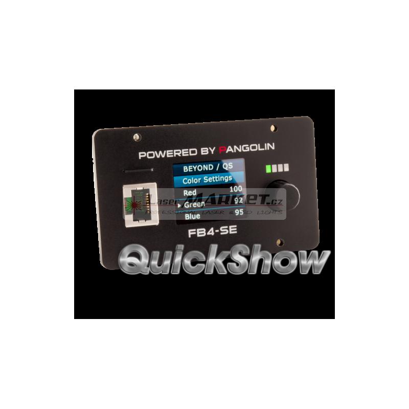 Pangolin Flashback 4 (FB4 MAX) QUICKSHOW Laser Show Designer, ILDA, SD card, ETHERNET