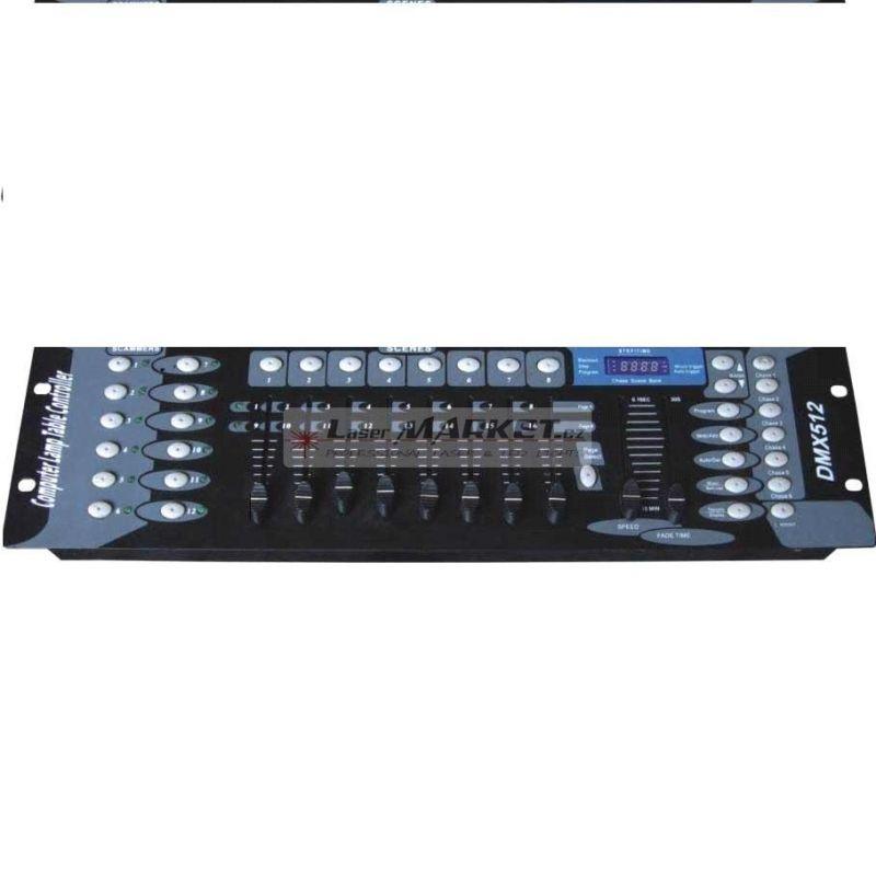DMX controller 192, ovladací světelný pult, až 240 programovatelných scén s 16 DMX kanály