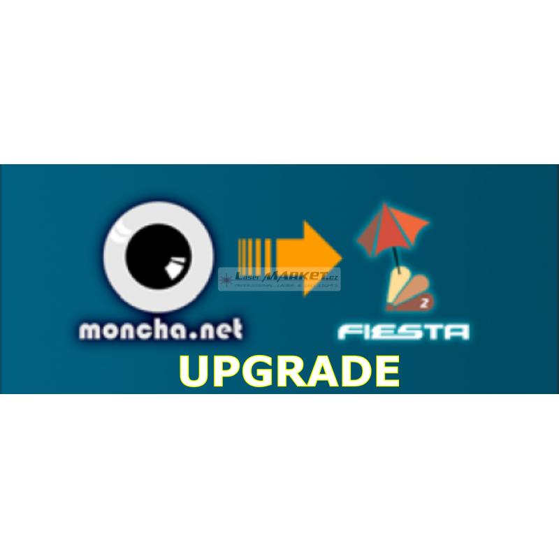 Fiesta UPGRADE licence pro Moncha.NET Master převodník, profesionální laser show software.