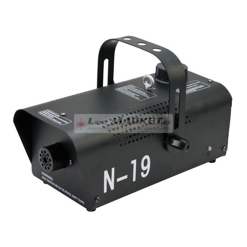 Eurolite N-19, výrobník mlhy, černý