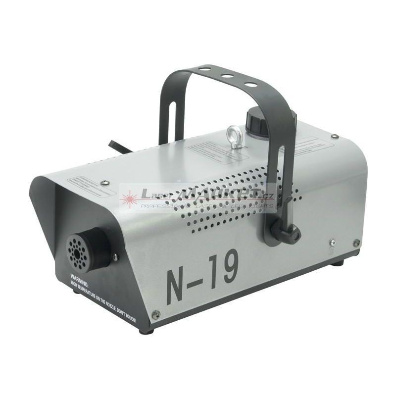 Eurolite N-19, výrobník mlhy, stříbrný