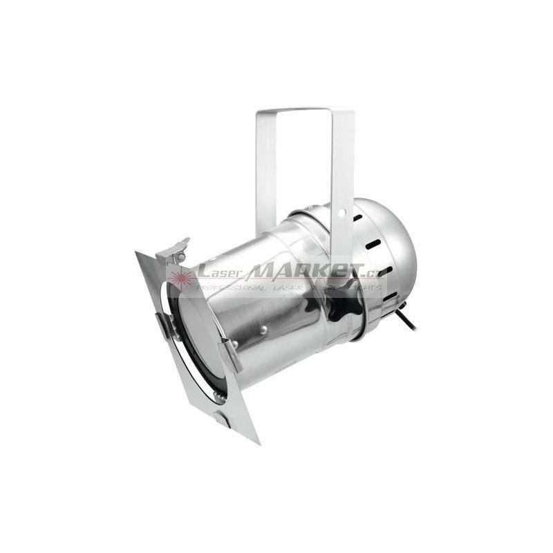 Eurolite LED PAR-56 COB 5600K 100W, reflektor stříbrný
