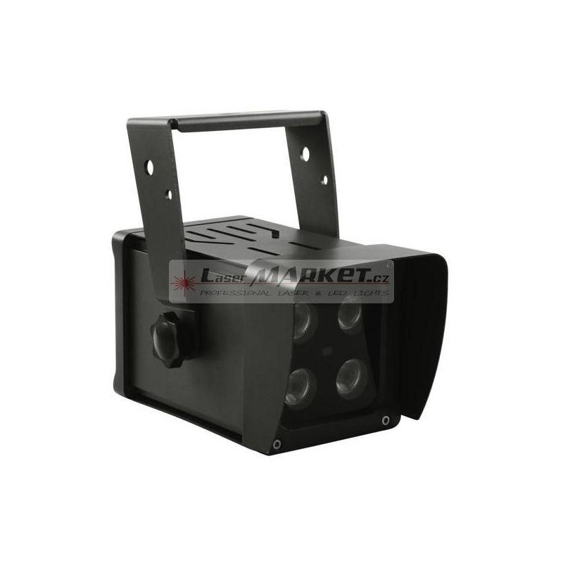 Eurolite LED reflektor 4x8W QCL IP65, DMX