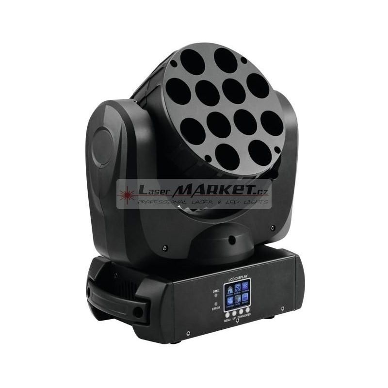 Eurolite LED TMH-12, 12x10W QCL LED, DMX, otočná hlavice