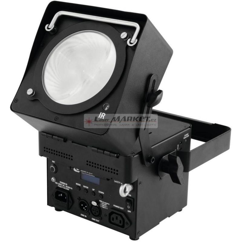 Eurolite LED AKKU Spot 1x 36W RGB COB DMX, IR, dobíjecí baterie