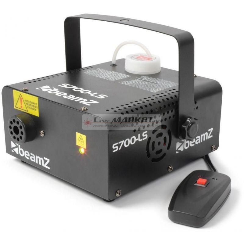 BeamZ S700 výrobník mlhy s Laserem 200mW, červená-zelená