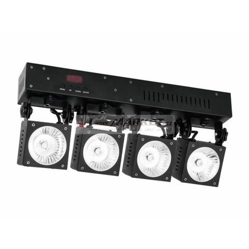 Eurolite LED KLS-40, 4x 30W COB QCL DMX, světelná rampa