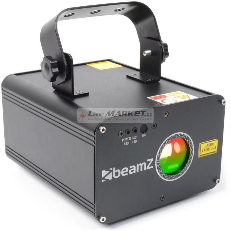 BeamZ Laser Oberon 225mW RGY, DMX