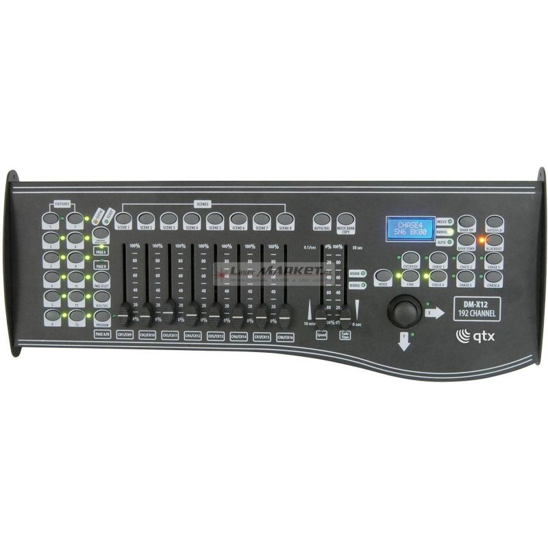 QTX Scan Operator 192, DMX kontrolér