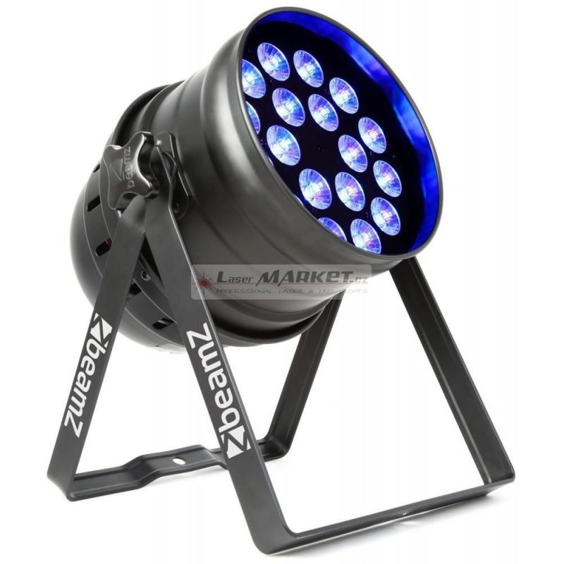 BeamZ LED PAR 64 reflektor, 18x 6W QCL