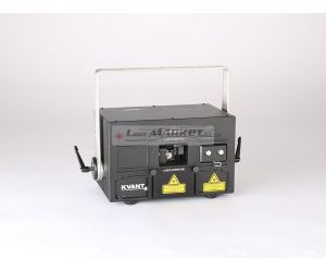 KVANT ClubMax 800, 800mW plnobarevný laserový projektor, RGB, ILDA, DMX