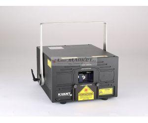 KVANT ClubMax 6000, 6000mW plnobarevný laserový projektor, RGB, ILDA, DMX
