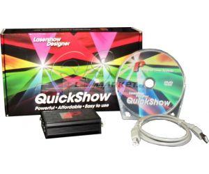 Pangolin QUICKSHOW Laser Show Designer, Flashback 3, FB3, USB - ILDA.