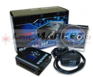 MONCHA.NET Box, controller + software pro laserové projektory, ethernet, ILDA, DMX
