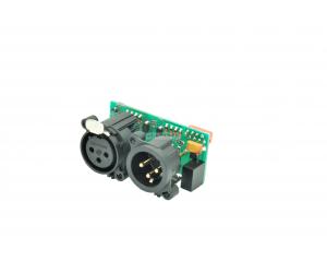 MONCHA.Lite DMX Board, OEM k základní desce MONCHA.Lite, DMX in/out modul do panelu.
