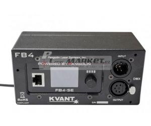 KVANT FB4-QS DMX Quick Connect - SW Pangolin QS , ETHERNET, 2x ILDA, ArtNet, SD card.