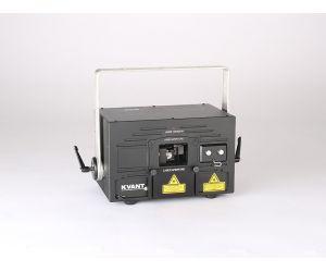 KVANT ClubMax 2000, 2000mW plnobarevný laserový projektor, RGB, ILDA, DMX