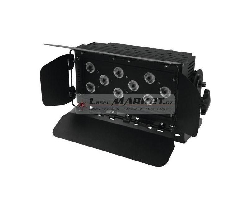 Eurolite LED Wash 9x 8W QCL RGBW