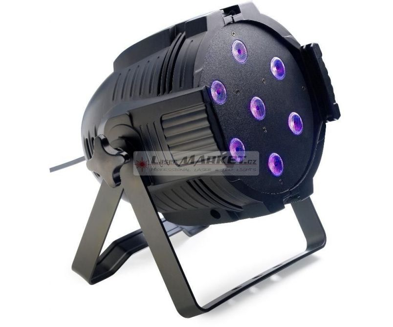 Stagg LED PAR ML-7x10W QCL DMX černý, LED reflektor