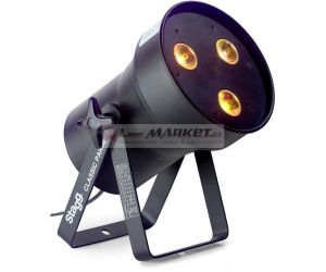 Stagg LED PAR 3x8W QCL DMX černý, LED reflektor