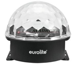 Eurolite LED Half Ball 3x 1W RGB, paprskový efekt
