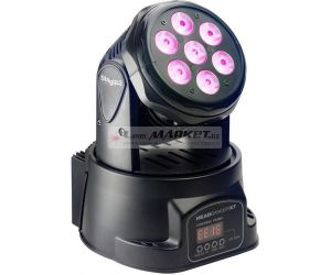 Stagg LED otočná hlavice 7x10W QCL MKII DMX