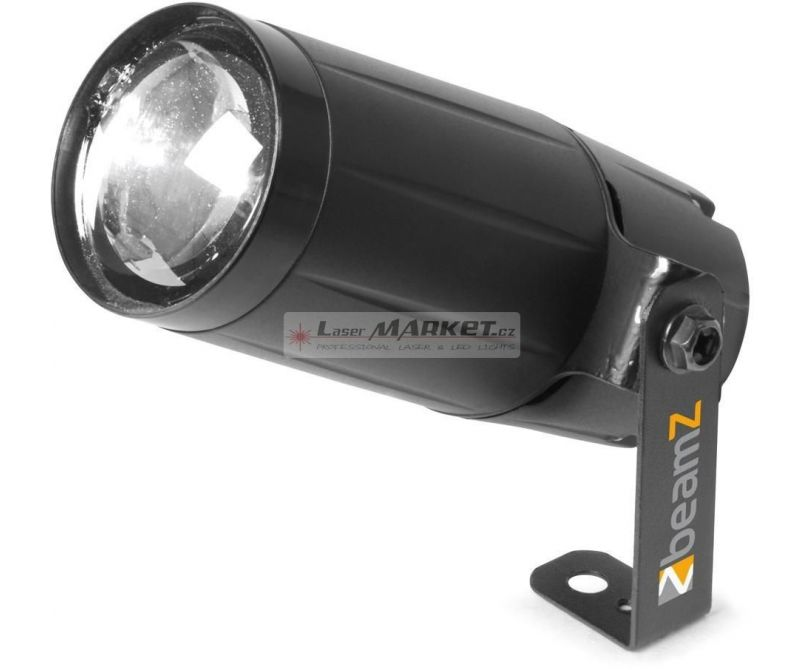 BeamZ LED Spot 6W, 10, černý