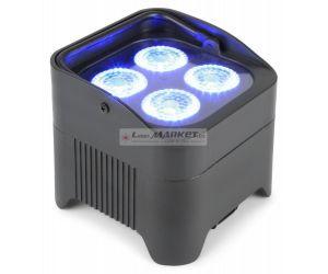 BeamZ Uplight PAR64 Battery 4x 10W RGBAW+UV