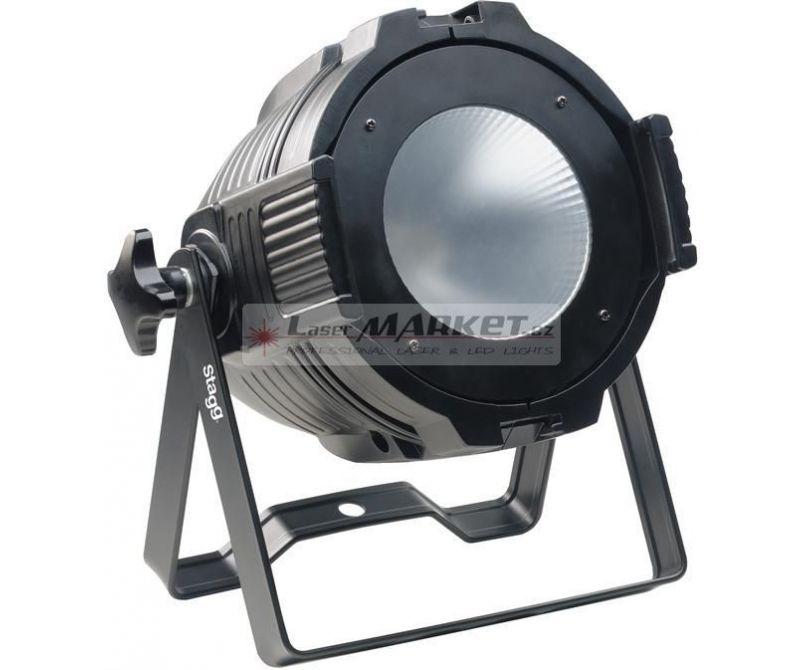 Stagg LED PAR ML-1x60W COB RGB DMX černý, LED reflektor