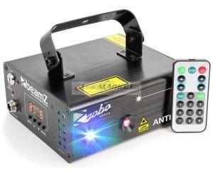 BeamZ Laser Anthe II Double 600mW RGB Gobo, DMX, DO