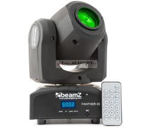 Beamz LED otočná hlavice Panther 40, 1x45W LED, IR, DMX