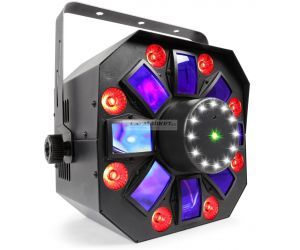BeamZ LED Multi Acis IV s laserem a stroboskopem