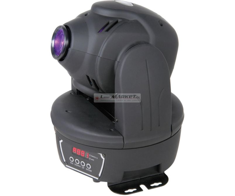 Skytec LED Moving Head Spot COB RGB - rozbaleno (SK150447)