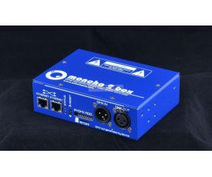 Moncha2.box , controller + software pro laserové projektory, ethernet, ILDA, DMX