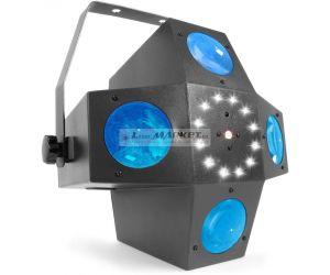 BeamZ LED Multitrix, 20x1W RGBWA + 12xSMD LED + 225mW RG laser, světelný efekt - rozbaleno (SK153726)